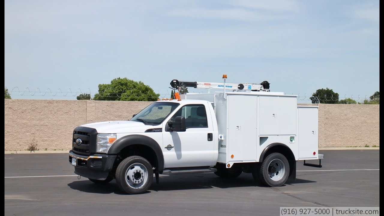 2011 ford f450 service truck for sale