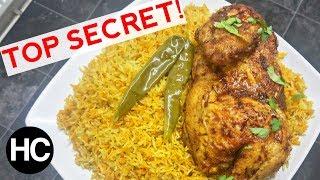 AUTHENTIC CHICKEN MANDI RECIPE - SMOKEY RICE &amp CHICKEN - How to make Chicken Mandi - Halal Chef