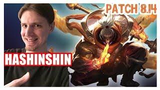 Hashinshin | JAX vs AATROX | JAX Top | JAX Gameplay | Patch 8.14