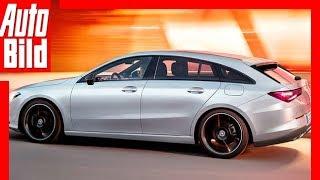 Zukunftsaussicht: Mercedes CLA Shooting Brake (2019) Details / Erklärung