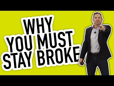 Why You Must Stay Broke - Grant Cardone