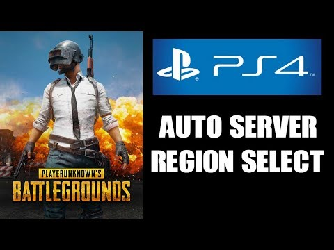 PUBG PS4: How Auto Server Region Select Works & The Implications For  Gameplay