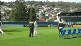 Pakistan Cricket team training in Hobart before Boxing Day Test