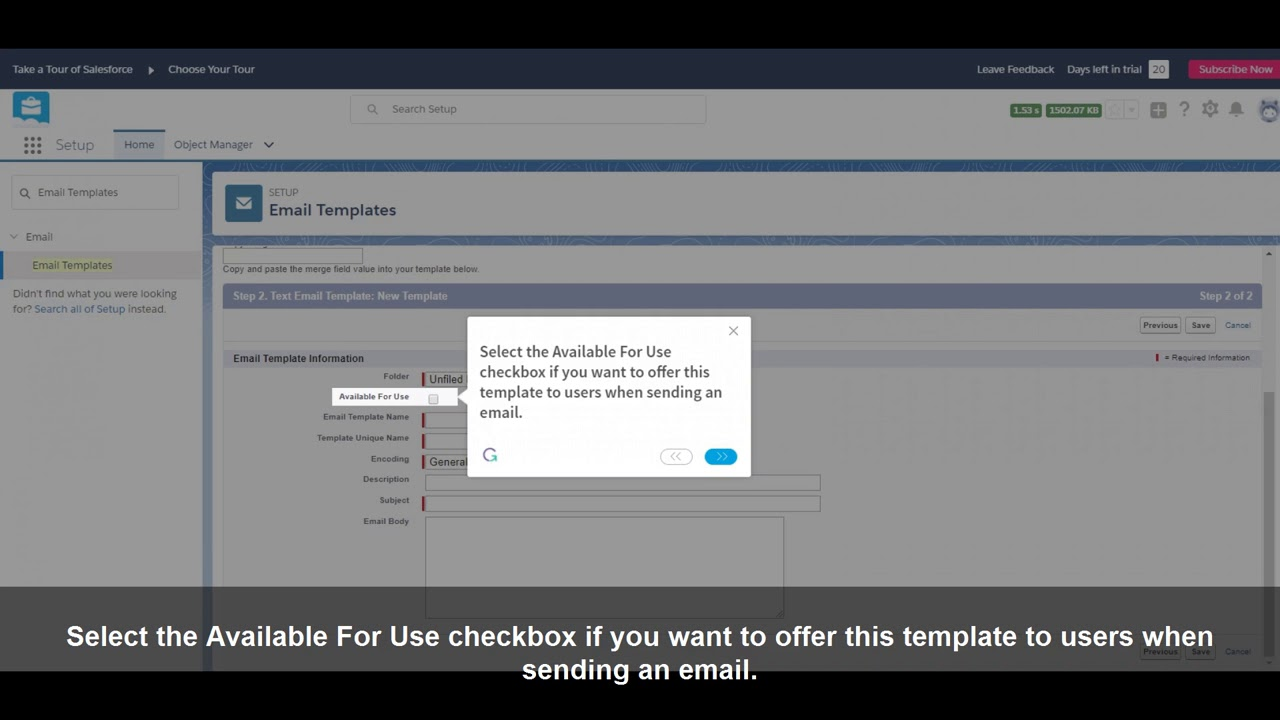 How To Create An Email Template In Salesforce Lightning Df17 Youtube