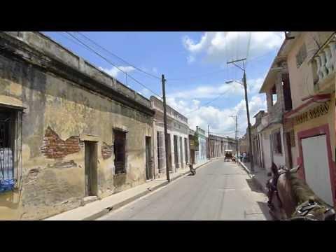 Camaguey Cuba, con coche del terminal a Monte Carlo