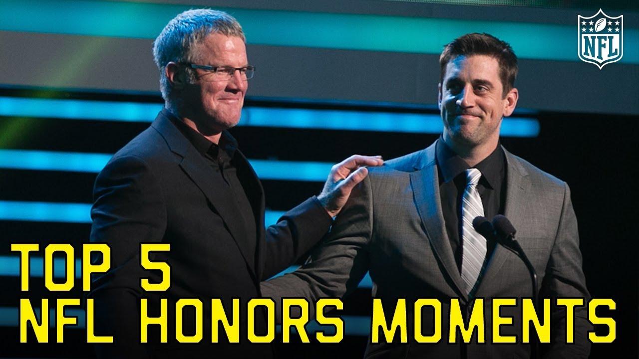 Download Top 5 NFL Honors Moments   NFL