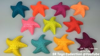 Play Doh Starfish with Assorted Cookie Cutters Fun and Creative for Kids