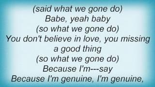 Erykah Badu - I Want You Lyrics