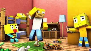 WIRD HOMER MICH FINDEN ? | MINECRAFT HIDE AND SEEK | DIE SIMPSONS