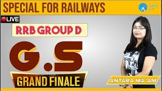 RRB GROUP D | GS  Finale |  By Antara ma;am | 1 P.M thumbnail