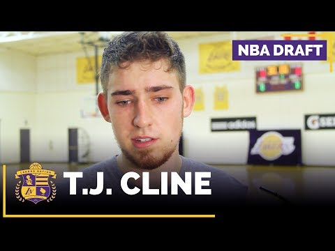 NBA Draft Prospect: T.J. Cline Lakers Interview (Richmond, Forward/Center)