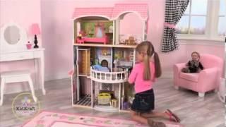Kidkraft Magnolia Mansion Dollhouse 13-pc Of Furniture