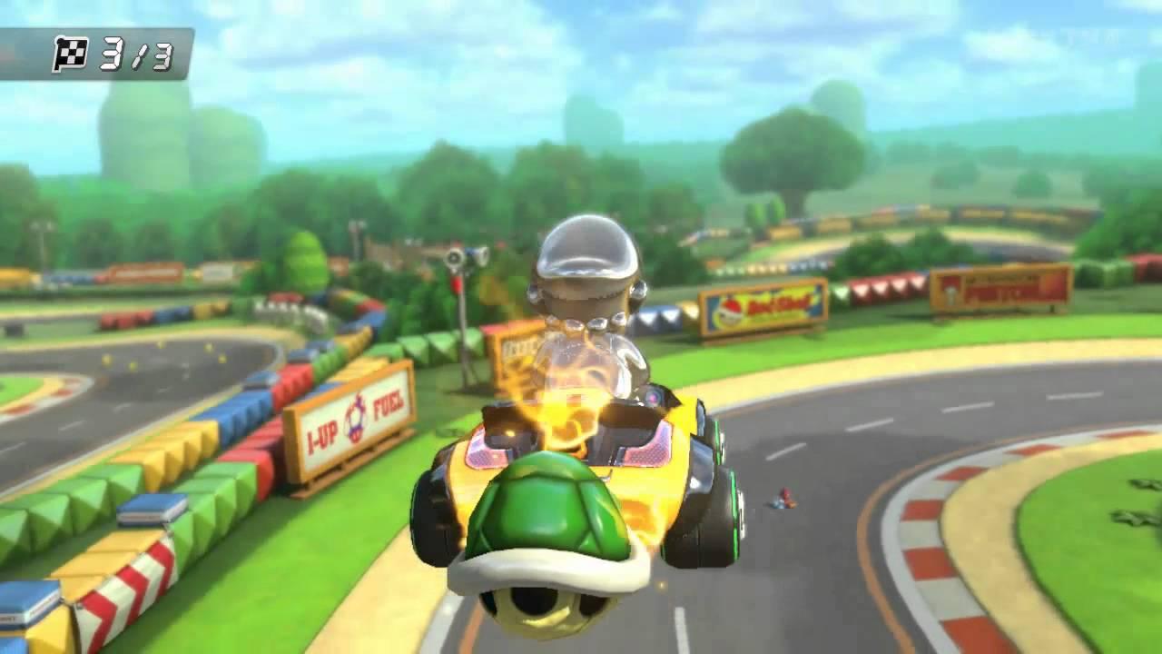 Wii U Mario Kart 8 Gba Mario Circuit Youtube