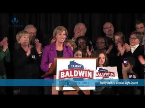 Tammy Baldwin Victory Speech