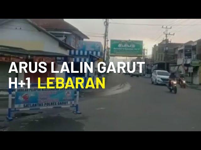 Pantauan Arus Lalu Lintas Beberapa Wilayah di Kabupaten Garut H+1 Lebaran, Garut Arah Bandung Lancar