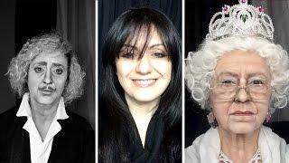 Celebrity Make-up Transformation Becomes Internet Sensation