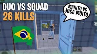 DUO CON AMIGO DE BRASIL!! *26 KILLS* PUBG MOBILE / MITEK