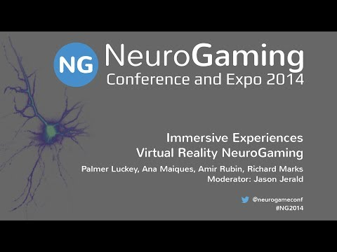 Immersive Experiences - Virtual Reality NeuroGaming
