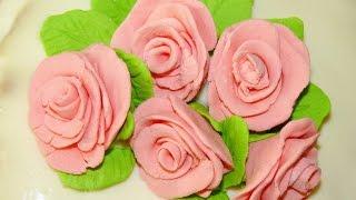 Как сделать мастику из зефира. Рецепт.(Пошаговый рецепт приготовления мастики из зефира. Для украшения торта. ..., 2016-11-30T12:32:43.000Z)