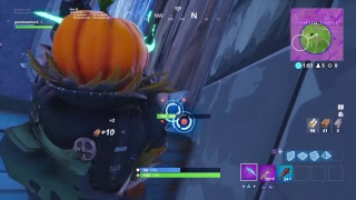 FORTNITE - NOUVEAU GAMEPLAY HOLLOWHEAD PUMPKIN SKIN !!