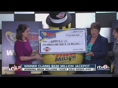 Winner claims $536 million Mega Millions jackpot