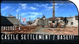 "Fallout 4 Gameplay Walkthrough Part 18 – ""CASTLE SETTLEMENT / BEST BASE BUILDING!!!"""