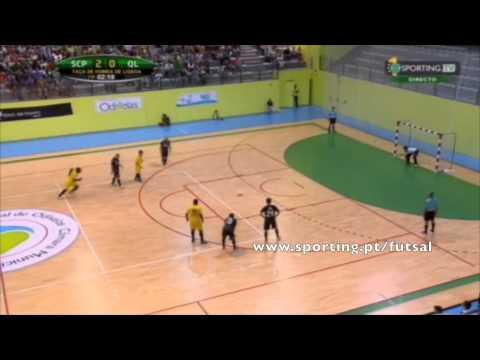 Futsal :: Sporting - 4 x Quinta dos Lombos - 1 de 2015/2016 1/4 Final Taça Honra AFL