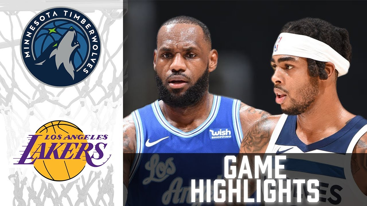 Timberwolves vs Lakers HIGHLIGHTS Full Game | NBA March 16