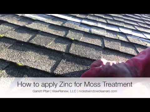 How To Apply Zinc to a Roof   Moss Treatment Portland, Oregon - ViewRenew