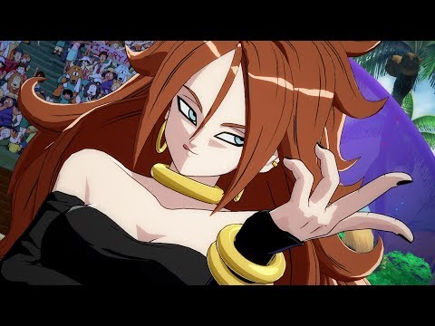 Dragon Ball FighterZ Mods Partially Transformed Android 21