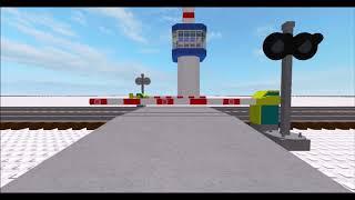 Choque de trenes (ROBLOX Machinima)