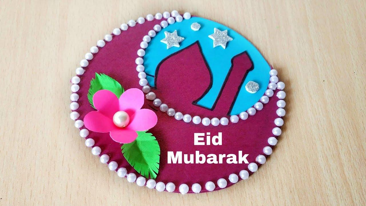 eid mubarak card how to make card for eid handmade eid