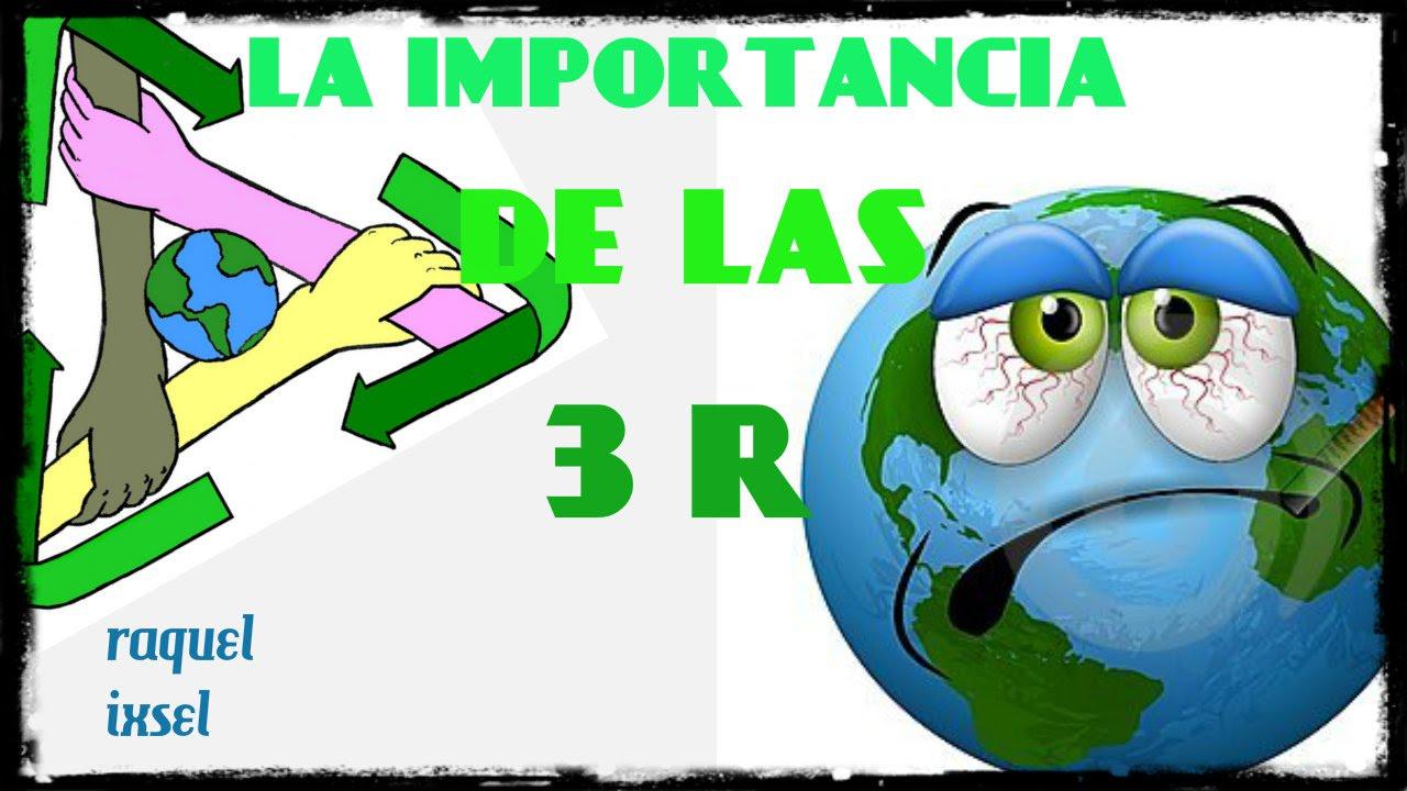 Las 3 r 39 s ecologia youtube for Dibujos de las 3 r