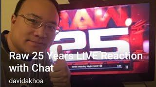 Raw 25 Highlights #WWE #Raw25 - LIVE Reaction
