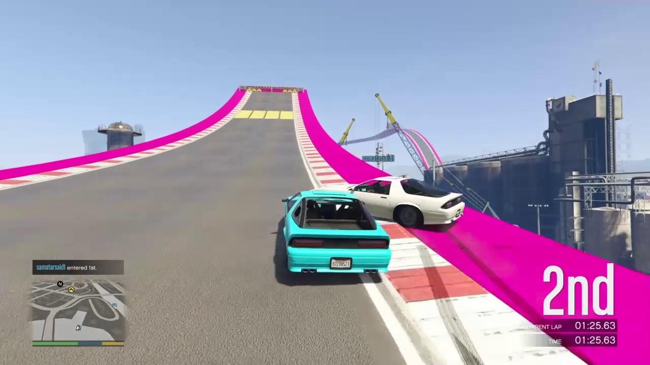 GTA V: True Love, 3 2 1 Kaboom, Funny Clips Of Races - YouTube