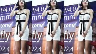 Cô Gái Váy Trắng Xinh Lung Linh Cùng Anh Đu Đưa Trên Điệu Nhạc Xập Xình 2020