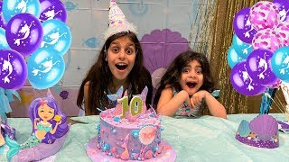 Deema 10th Birthday Party Surprise