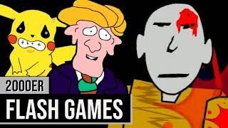 Ich habe die ältesten Flash Games die ich so finden konnte gespielt
