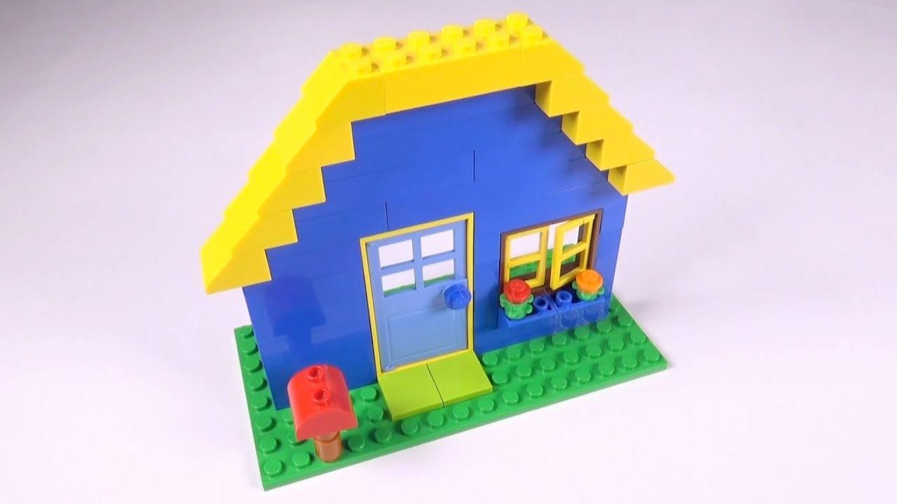 Lego Basic House (001) Building Instructions - LEGO Classic How To ...