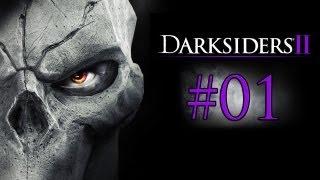 Let's Play - Darksiders 2 [GERMAN] NACH KRIEG KOMMT TOD - Part #01
