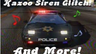 NFS: HP - Kazoo Siren Glitch & More