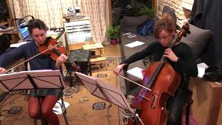 Avant Piano Trio - snippet of Peter Seabourne's Piano Trio recording for CD autumn 2020