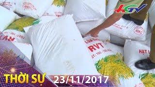 Quản lý chất lượng lúa giống đầu vụ đông xuân | THỜI SỰ HẬU GIANG - 23/11/2017