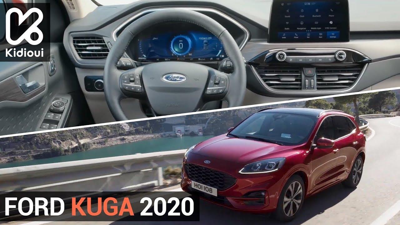Nouveau Ford Kuga 2020 Kidioui Youtube