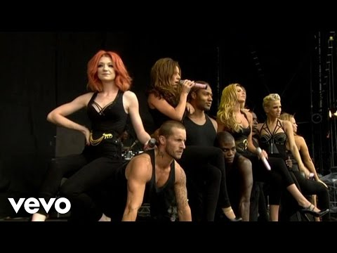 Girls Aloud - Sound Of The Underground (Live at V Festival, 2008)