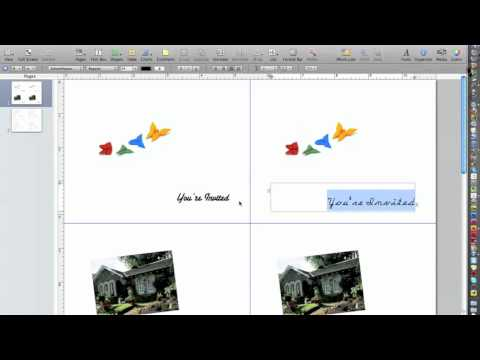 How to make business cards on apple mac