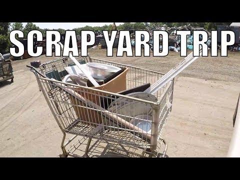 SCRAP YARD DAYS ARE BACK - Scrap Run Aluminum - Iron
