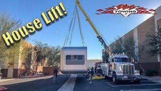 Lifting A Custom House With the Rotator!