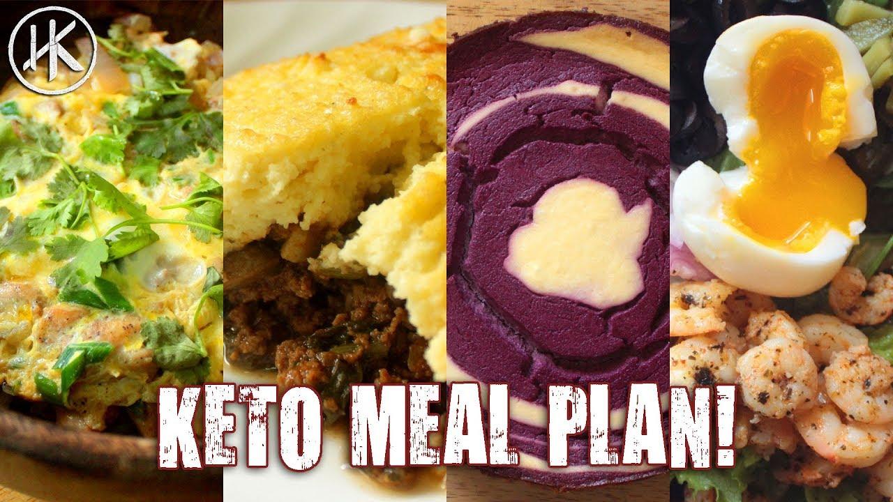 #MealPrepMonday - Episode 5 - 1500 Calorie Keto Meal Plan (Keto Meal Prep)
