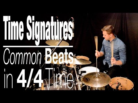 Time Signatures: Common Beats in 4/4